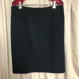 Black Pencil Short Skirt Women's 10